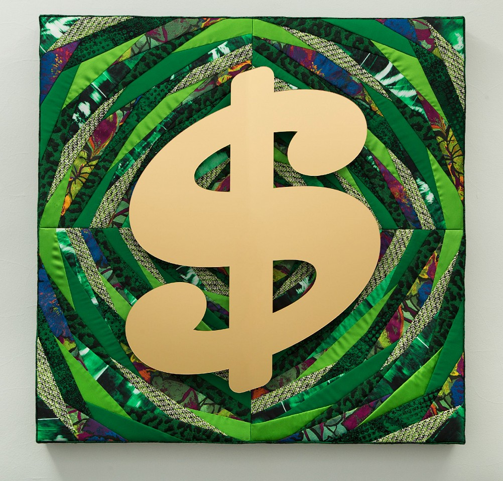 Stephen Wilson, More Money More Problems 2016, Mixed Media